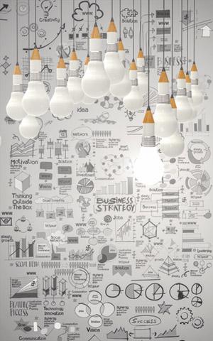 Glühbirnen, Ideen, Konzepte