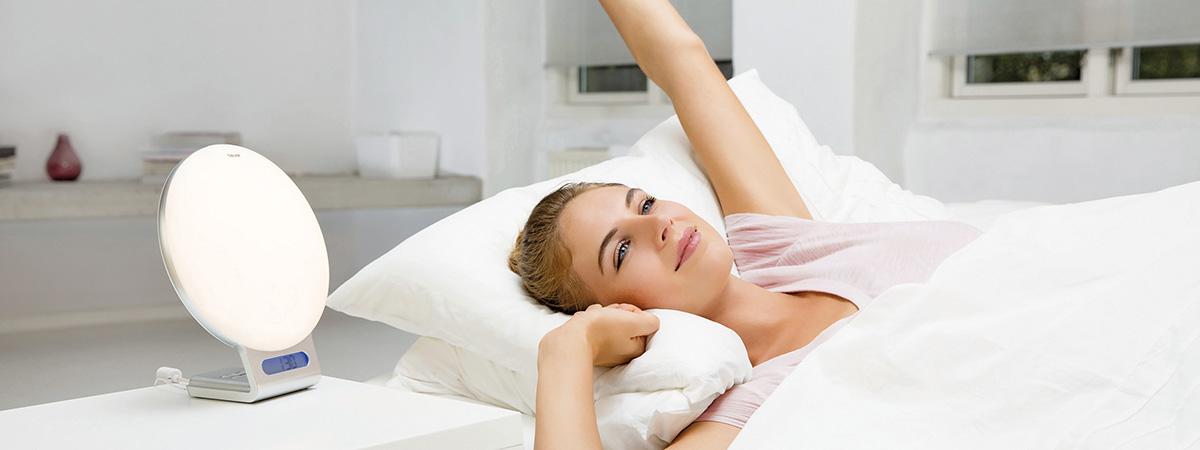 Beurer - Frau am Aufwachen