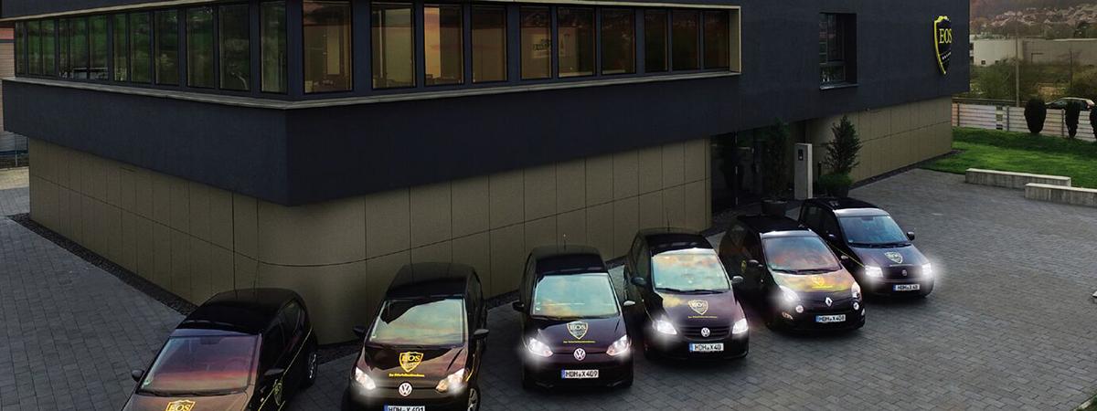 Außenansicht EOS Gebäude
