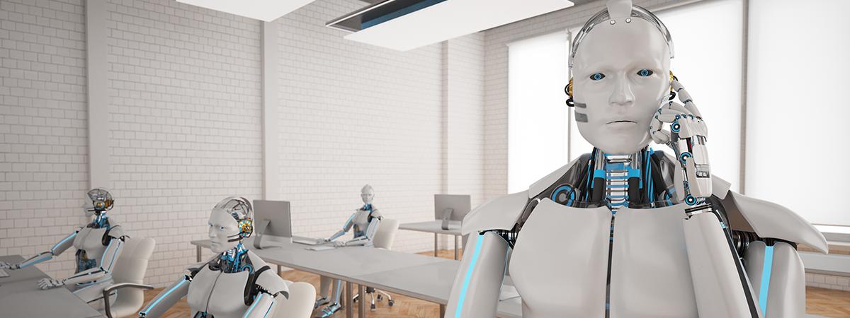 mfg - Roboter am Telefon gross
