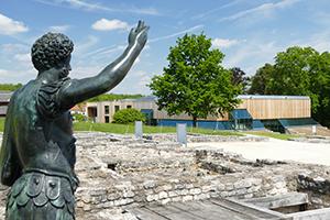 Aussenanlagen Limesmuseum Aalen kurz